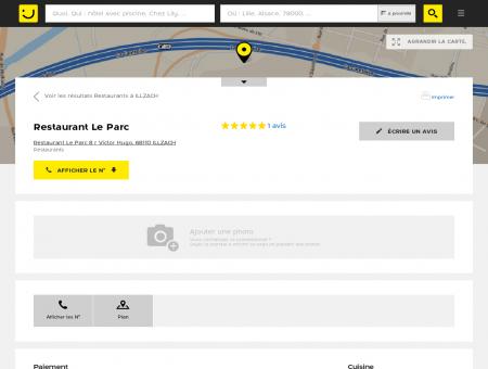 Restaurant Le Parc Illzach (adresse) -...