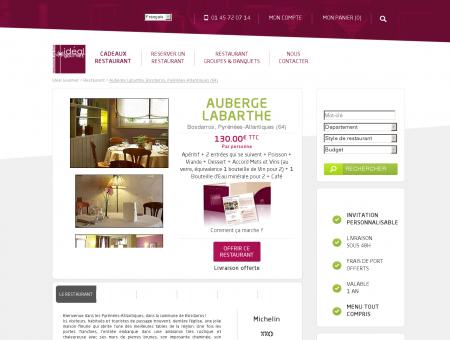 Restaurant Auberge Labarthe Bosdarros...
