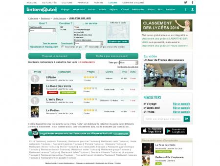 Restaurant Labarthe Sur Leze : Le guide des...