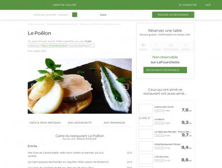 Restaurant Le Poêlon à Labarthe-sur-Lèze -...