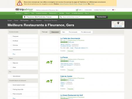 Les 10 meilleurs restaurants à Fleurance -...