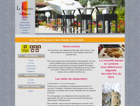 Restaurant La tour du Fleurance dans le Gers