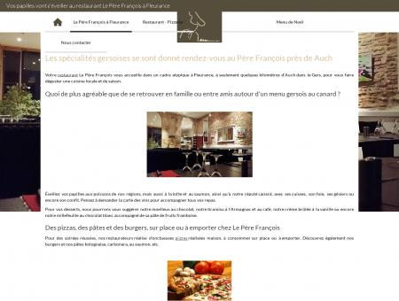 Restaurant fleurance | leperefrancois-fleurance.fr