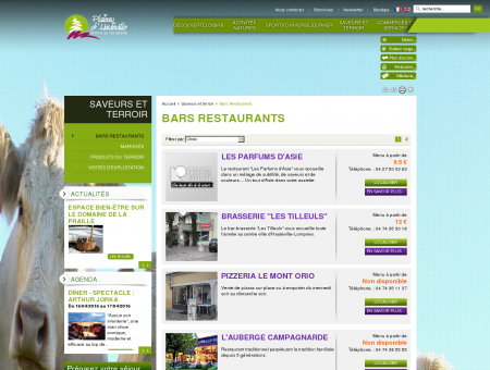 Bars Restaurants - Plateau d'Hauteville -...