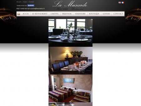 Hôtel Restaurant La Musarde à Hauteville-lès...
