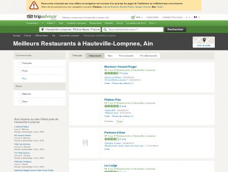 Les 5 meilleurs restaurants à Hauteville...