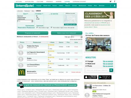 Restaurant Hirson : Le guide des meilleurs...