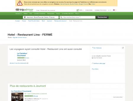 Hotel - Restaurant Lina, Jeumont - Restaurant...