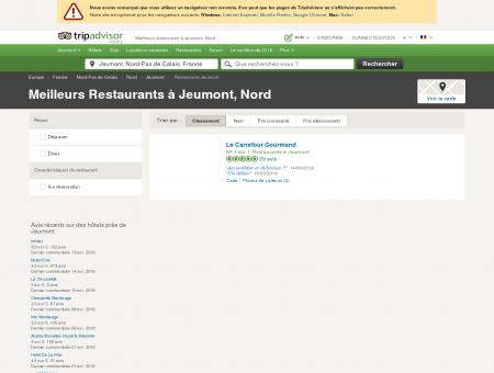 Les meilleurs restaurants à Jeumont -...