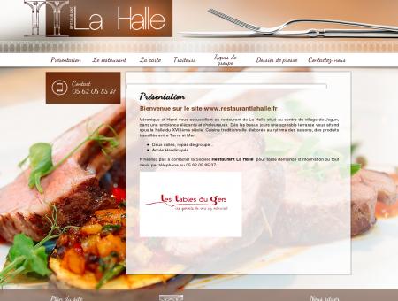 Présentation - restaurant la halle