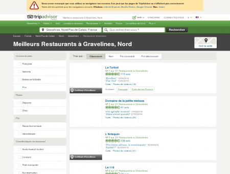 Les 10 meilleurs restaurants à Gravelines -...