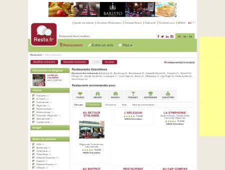Restaurant Gravelines - Guide Restaurants...