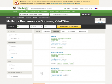 Les 10 meilleurs restaurants à Gonesse -...