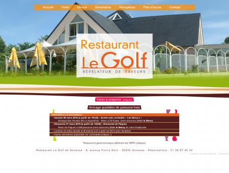 Restaurant Le Golf à Gonesse, Val d'Oise 95