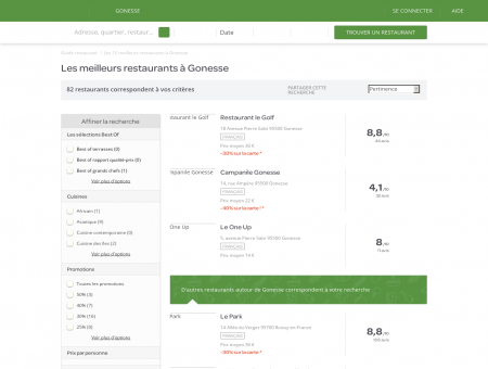 Restaurants Gonesse - Restaurants Gonesse : réservez.