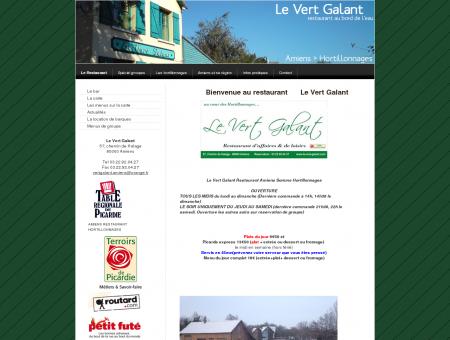 Le Restaurant - Amiens - Le Vert Galant -...