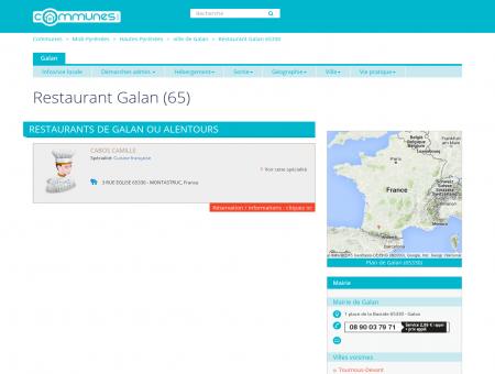Restaurant Galan (65) - Restaurants à Galan...
