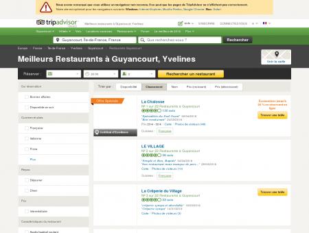 Les 10 meilleurs restaurants à Guyancourt -...