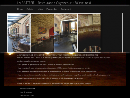RESTAURANT GUYANCOURT, 78 Yvelines :