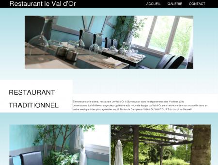 Restaurant Guyancourt 78 LE VAL D'OR -...