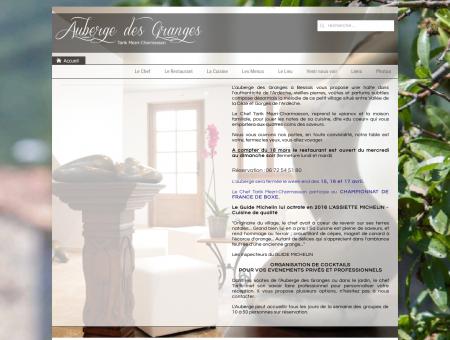 Auberge des Granges - Bessas - Restaurant en...