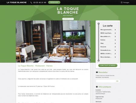 La Toque Blanche - Harnes|Réservez en ligne