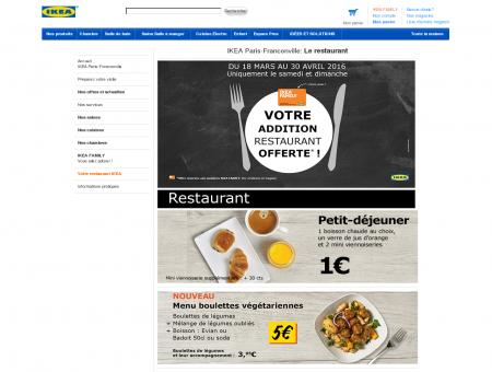 IKEA Paris-Franconville: Le restaurant -...