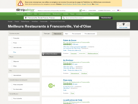 Les 10 meilleurs restaurants à Franconville -...