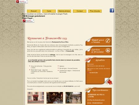 Restaurant Franconville - AUBERGE AU FEU A...