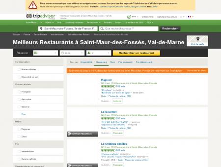 Les 10 meilleurs restaurants à Saint-Maur-des...