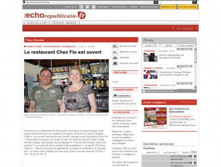 www.lechorepublicain.fr - Pays Drouais -...