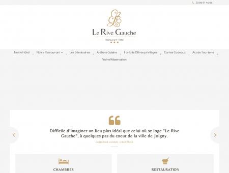 Accueil | Hôtel / Restaurant bourgogne, le Rive...