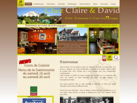 Hôtel - Restaurant Le Paris Nice à Joigny