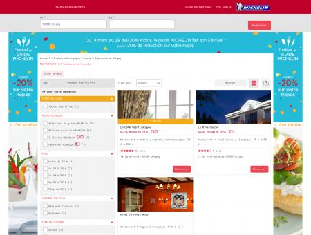 Restaurants 89300 Joigny - MICHELIN...
