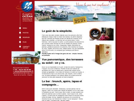 Planète Océan- Restaurant, bar, poissons et...