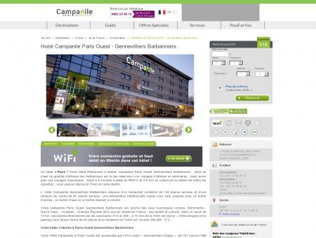 Hotel Campanile Paris Ouest - Gennevilliers...