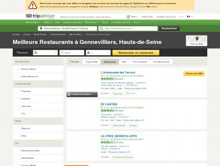 Les 10 meilleurs restaurants à Gennevilliers -...