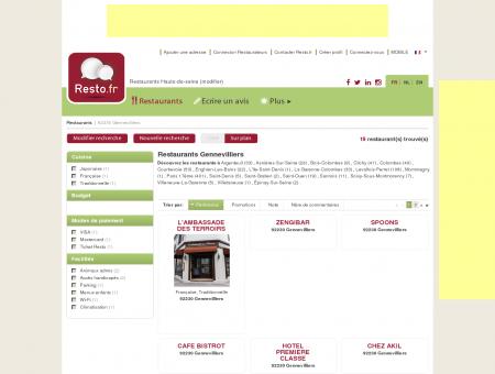 Restaurant Gennevilliers - Guide Restaurants...