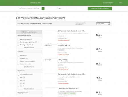 Restaurant gennevilliers - Réservez dans les meilleurs .