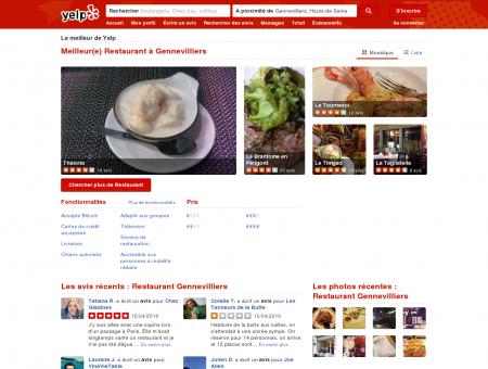 Restaurant à Gennevilliers - Yelp - Paris...