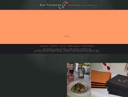 Restaurant Aux Fontaines à La Réole