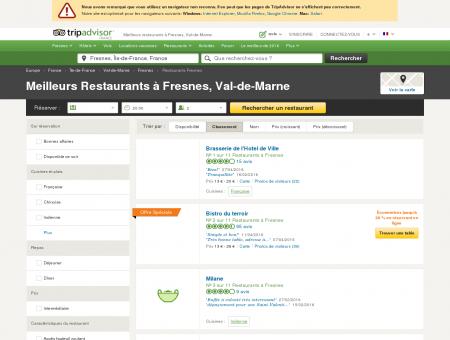 Les 10 meilleurs restaurants à Fresnes -...
