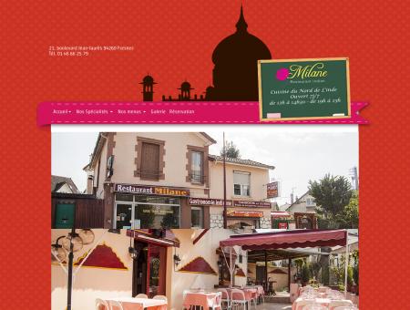 Restaurant Milane - Votre page web a expiré