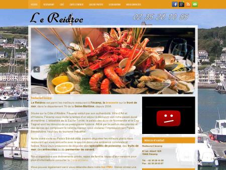 Le Reidroc restaurant à fecamp au bord de...