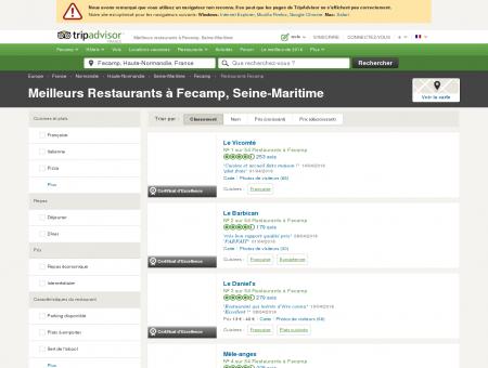 Les 10 meilleurs restaurants à Fecamp -...
