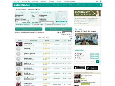 Restaurant Fecamp : Le guide des meilleurs...