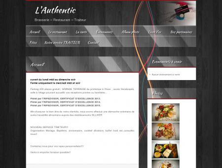 L'Authentic | Brasserie  Restaurant  Traiteur