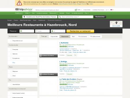Les 10 meilleurs restaurants à Hazebrouck -...
