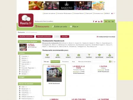 Restaurant Hazebrouck - Guide Restaurants...