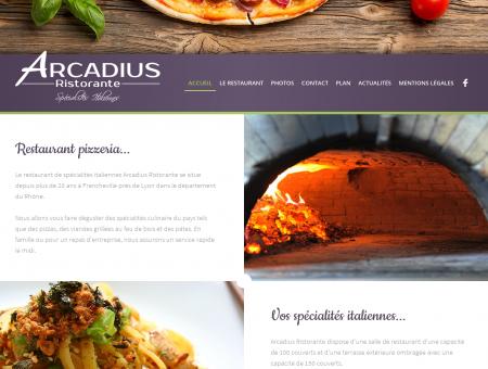 Pizzeria Arcadius à Francheville